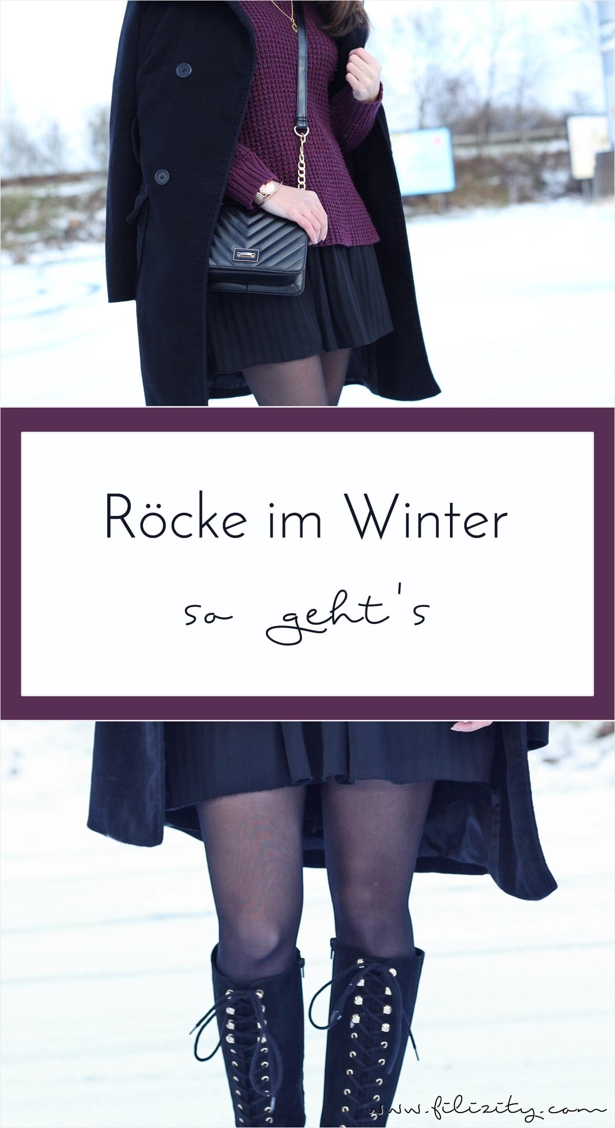 01f7910d60a57d Röcke im Winter  Styling-Tipps
