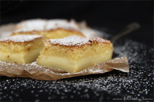 Vanille-Zauberkuchen  – 1 Teig, 3 Schichten
