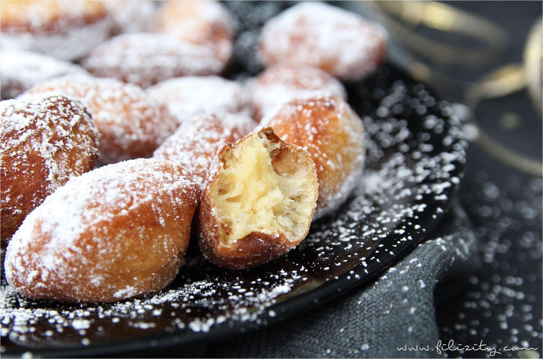 Fasching-Rezept: Mini-Krapfen | Filizity.com | Food-Blog aus dem Rheinland #fasching #karneval