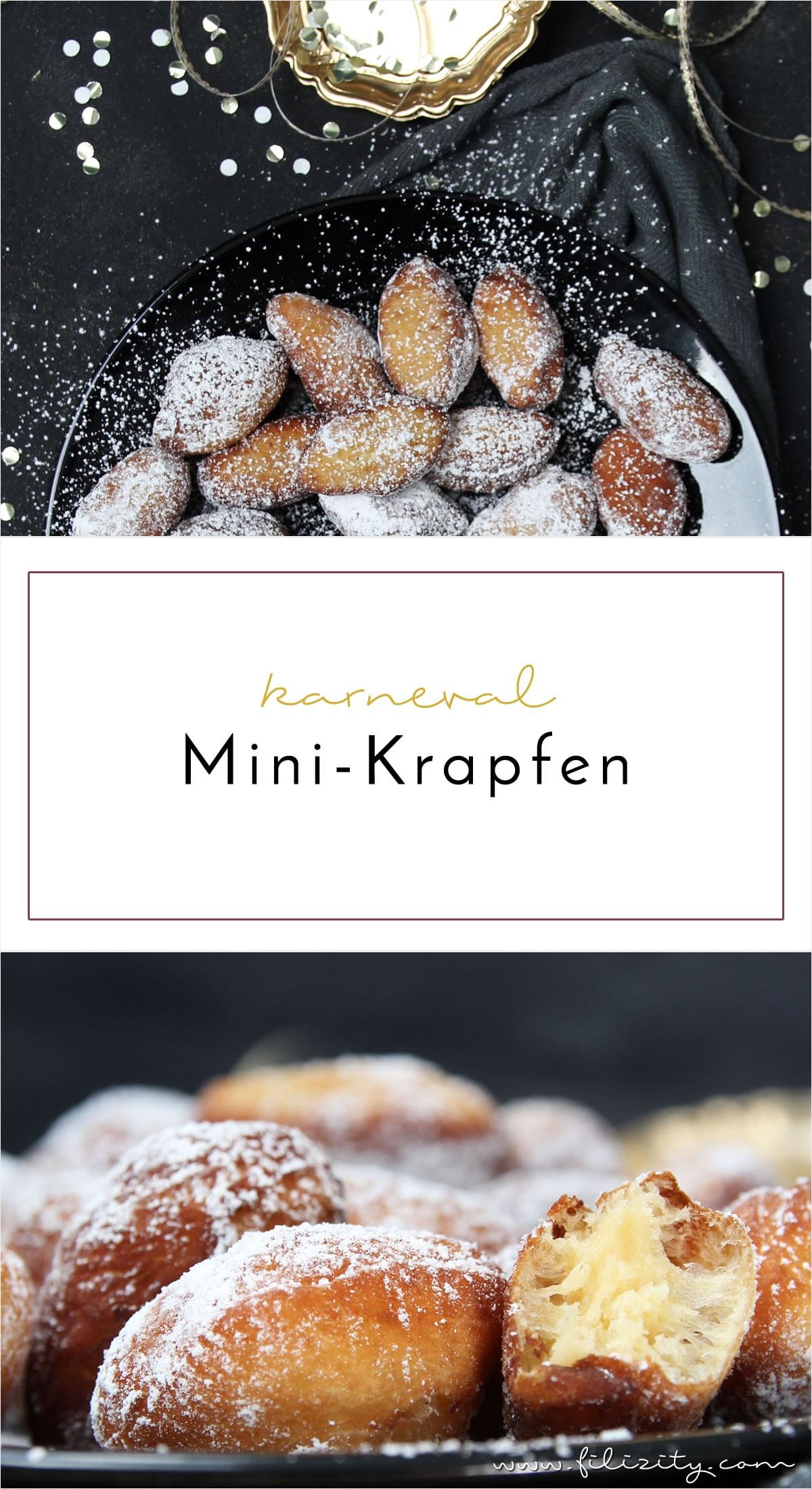 Fasching-Rezept: Mini-Krapfen