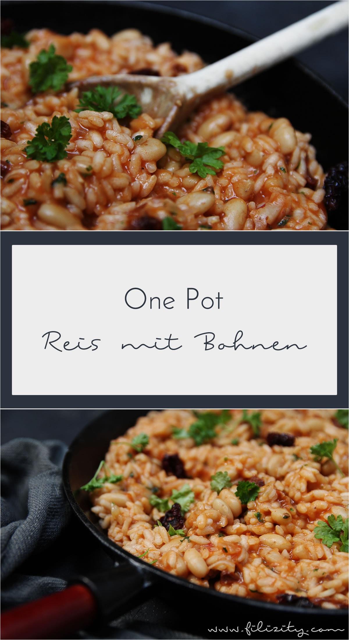 Rezept für One-Pot-Reis mit Bohnen: Vollwertige, gesunde Mahlzeit in nur 20 Minuten
