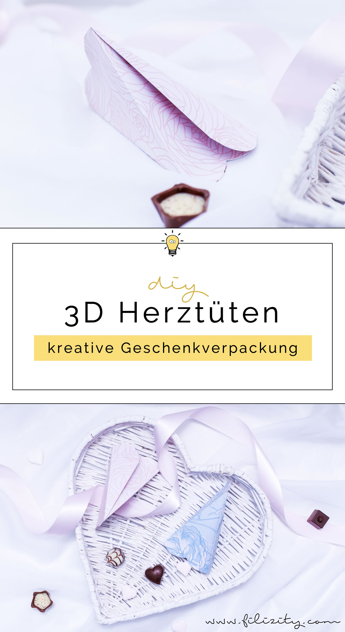 diy geschenkverpackung f r valentinstag 3d herzt ten falten diy blog aus dem. Black Bedroom Furniture Sets. Home Design Ideas