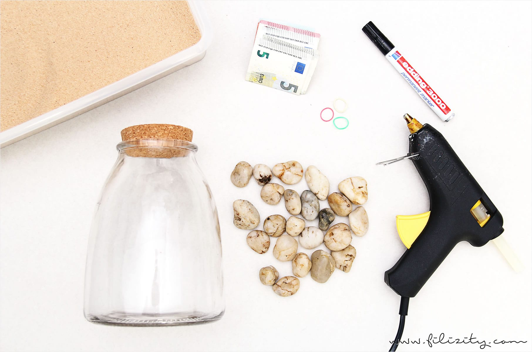 Kreative Verpackung für Reise-Geldgeschenke