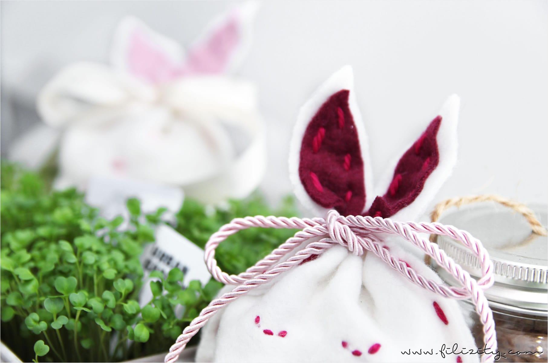Kleine Hasenbeutel – Süße Verpackung für Ostergeschenke