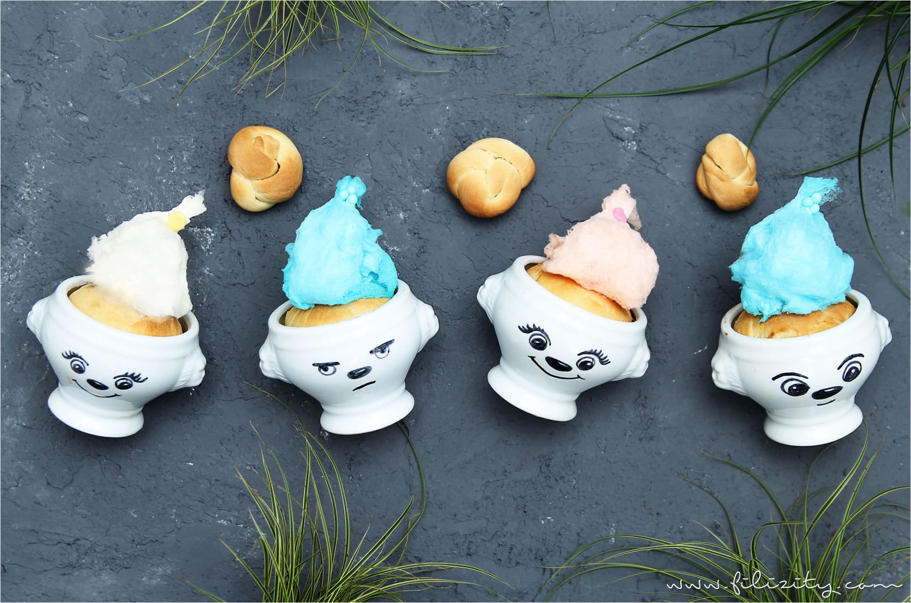 Rezept: Süße Hefe-Trolle zu Ostern