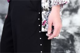 Trend-Hose mit Perlen selbermachen