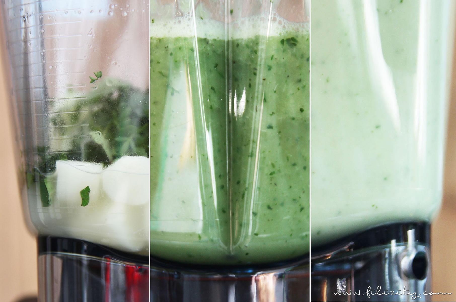 Frühlings-Rezept: Spargelcremesuppe aus dem Mixer | Filizity.com | Food-Blog aus dem Rheinland #veggie #spargel #suppe