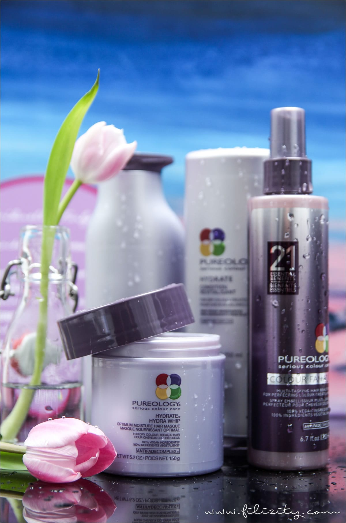 Pureology Hydrate – Vegane Feuchtigkeitspflege für coloriertes Haar