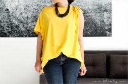 DIY: Trend-Shirt für Sommer in 10 Minuten selber nähen