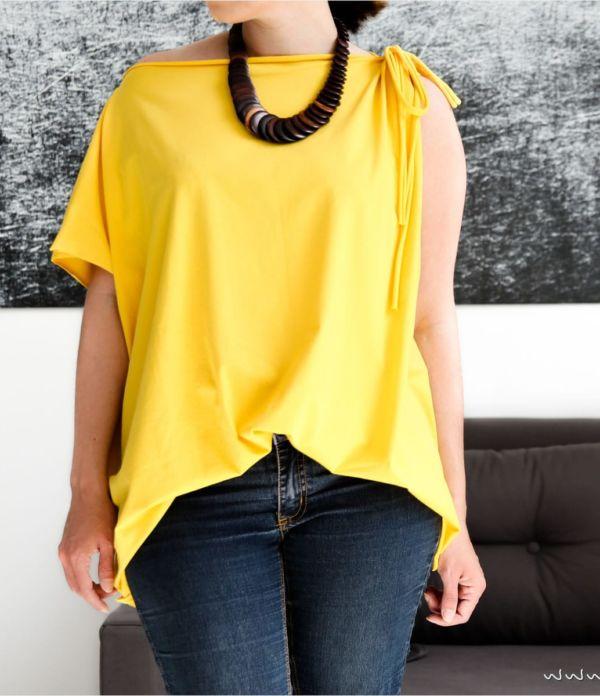 Trend-Shirt in 10 Minuten selber nähen