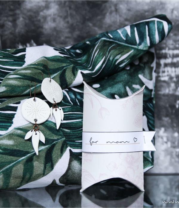 Pillow Box für Muttertags-Geschenke [Free Printable]