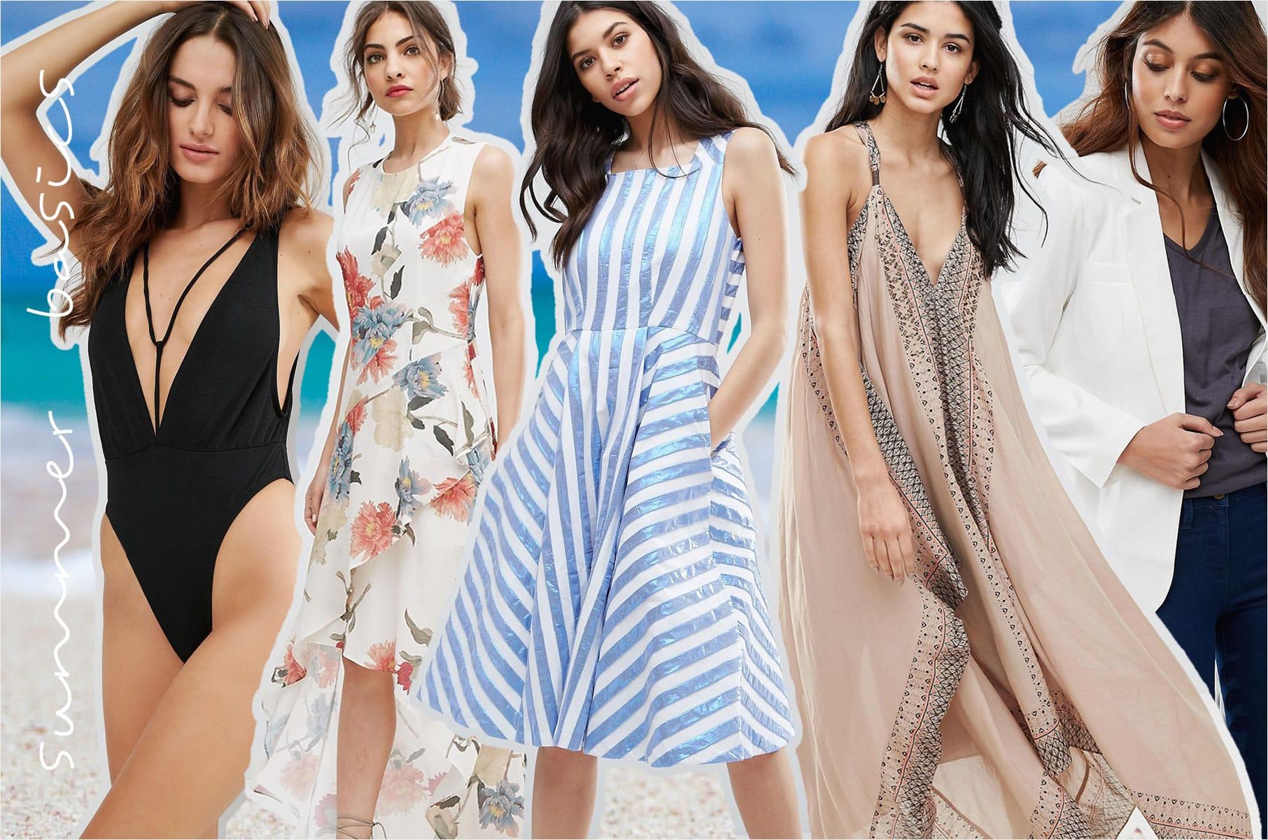 10 Sommer-Basics für deinen Kleiderschrank