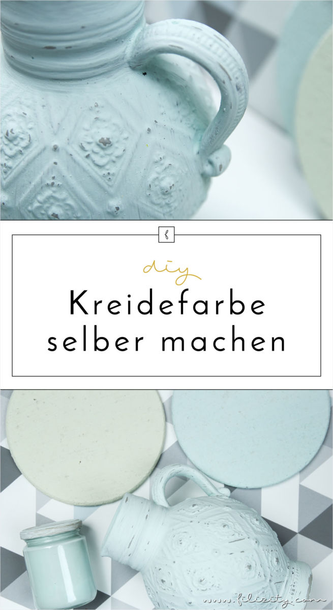 kreidefarbe chalk paint g nstig und einfach selber machen mit dieser diy anleitung erstrahlen. Black Bedroom Furniture Sets. Home Design Ideas