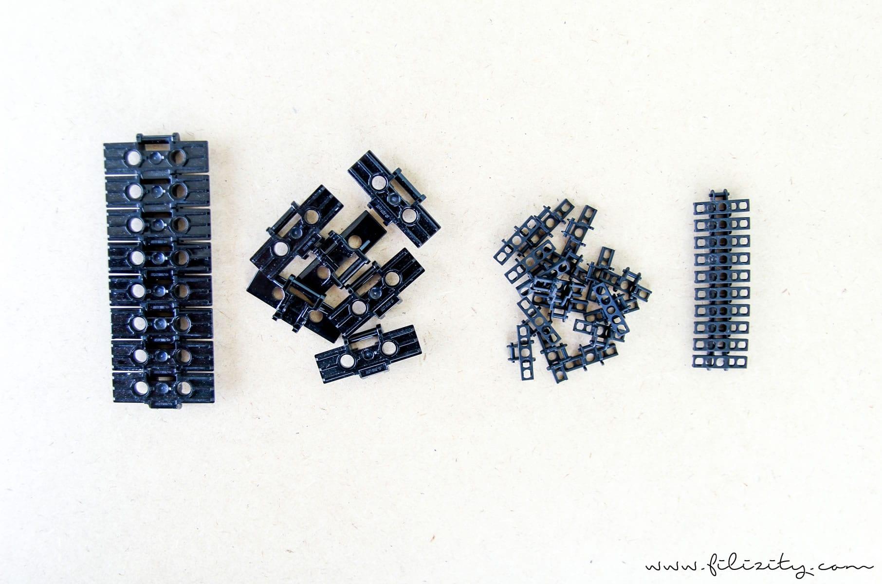DIY Schmuck: Eleganter Armreif aus Lego-Panzerkette - Material