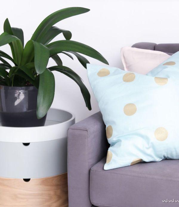 Pastell-Sommer im Wohnzimmer  – Auf den Punkt mit Tchibo