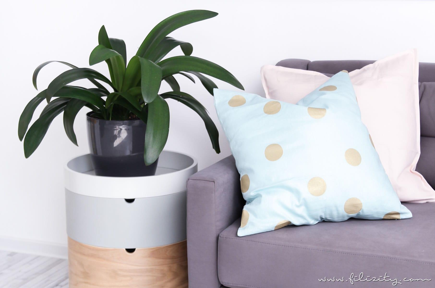 Einrichtung: Pastell-Sommer im Wohnzimmer – Auf den Punkt mit Tchibo