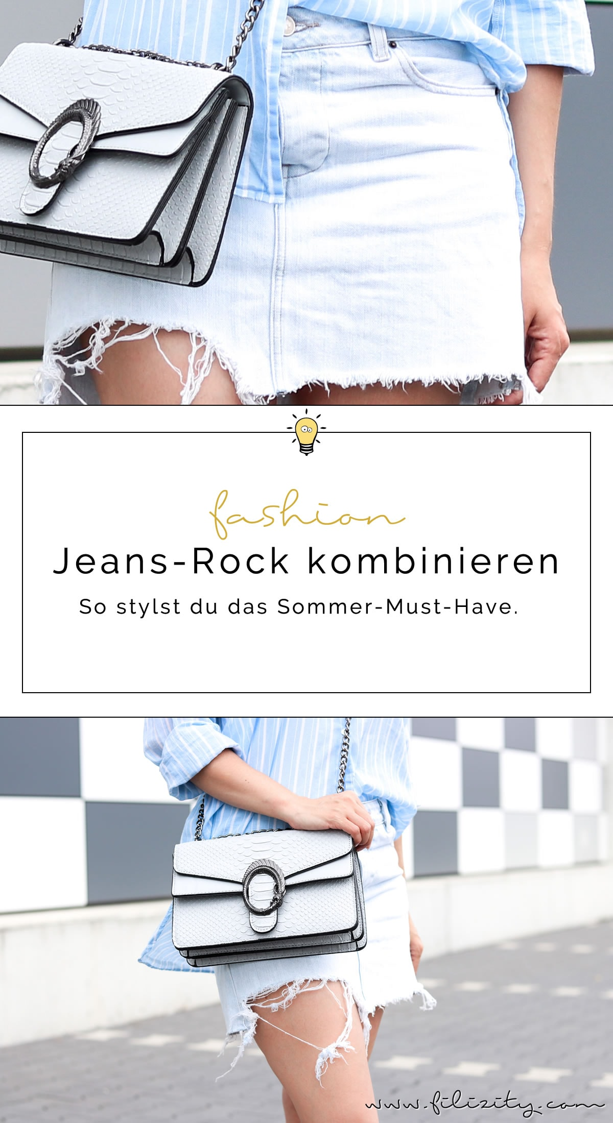 Fashion-Trend Jeansrock kombinieren – So stylst du das Sommer-Must-Have