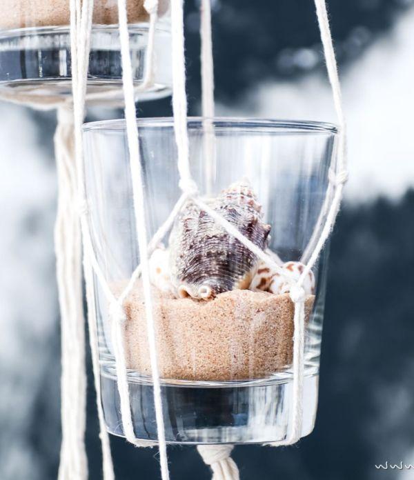 Hänge-Deko mit Muscheln  – Konserviere deinen Sommerurlaub