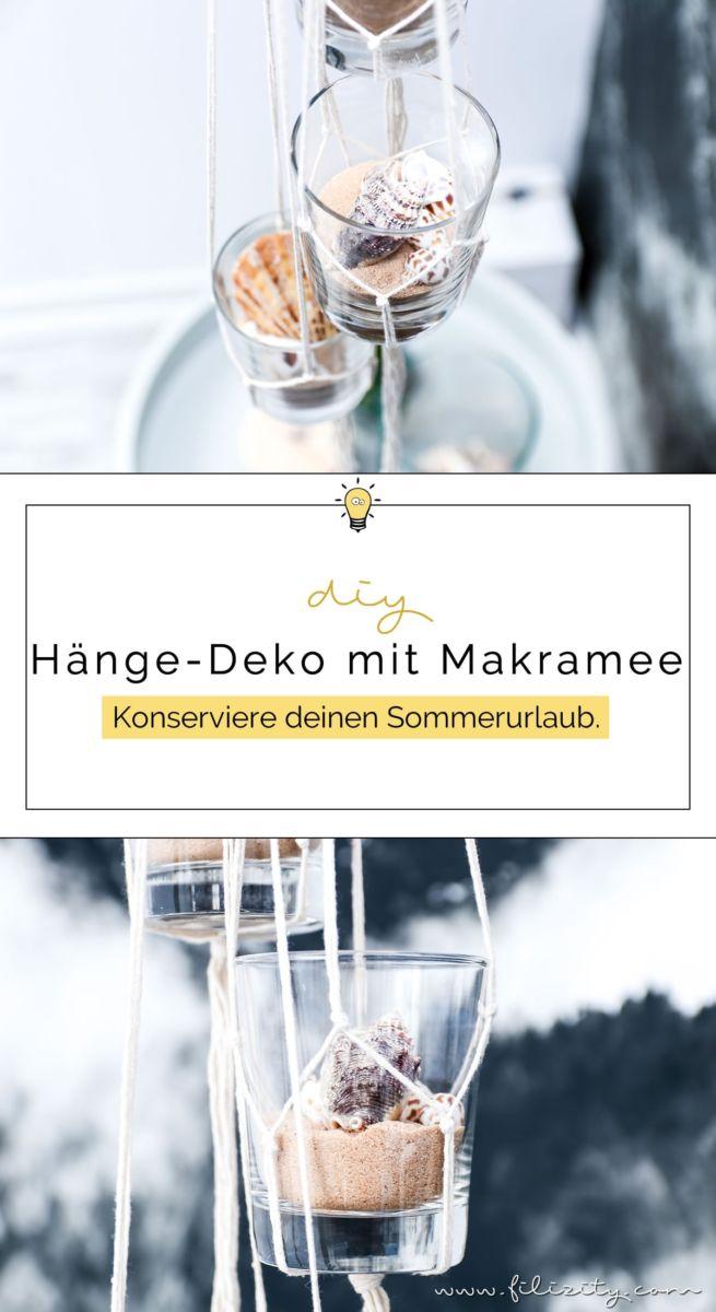 Maritime Deko Mit Muscheln Und Sand Selber Machen Mit Diesem