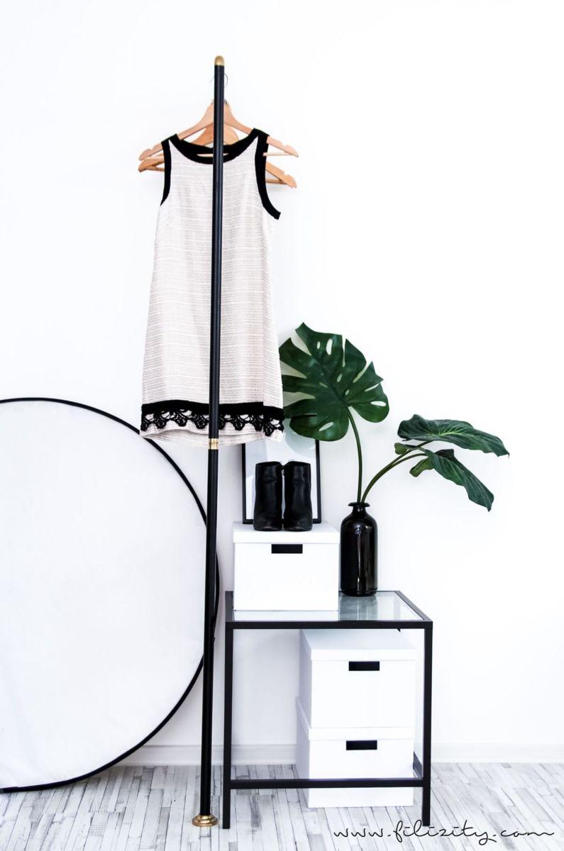 Garderobe selber bauen - aus einer Duschstange. Mit dieser einfachen ...