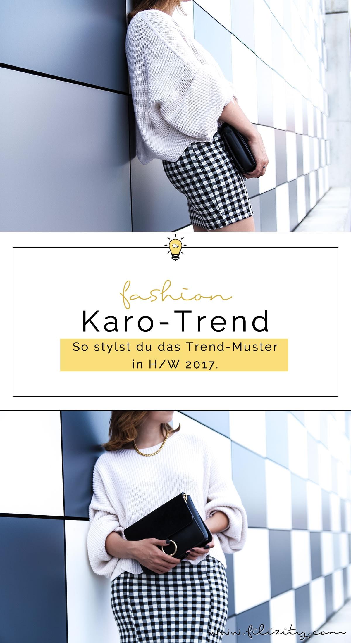 Trend-Vorschau: Karo – So stylst du das Trendmuster in H/W 2017