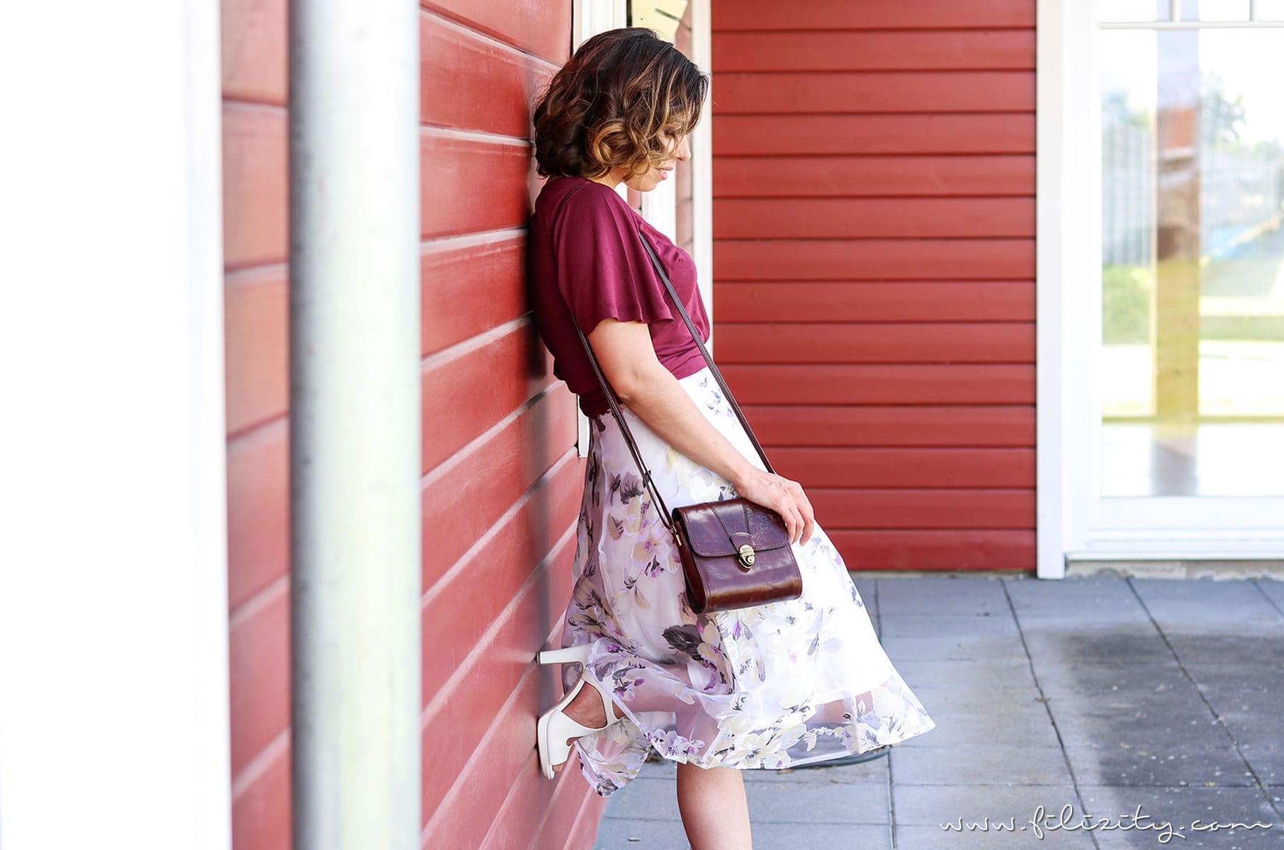Sommer-Must-Have Blumenmuster - So stylst du den Dauertrend + Outfit
