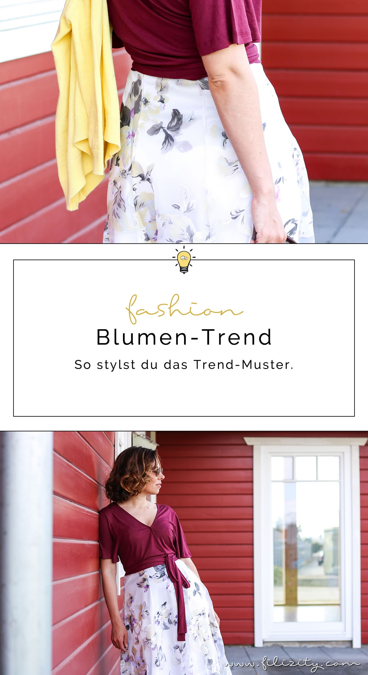 Sommer-Must-Have Blumenmuster - So stylst du den Dauertrend + Outfit