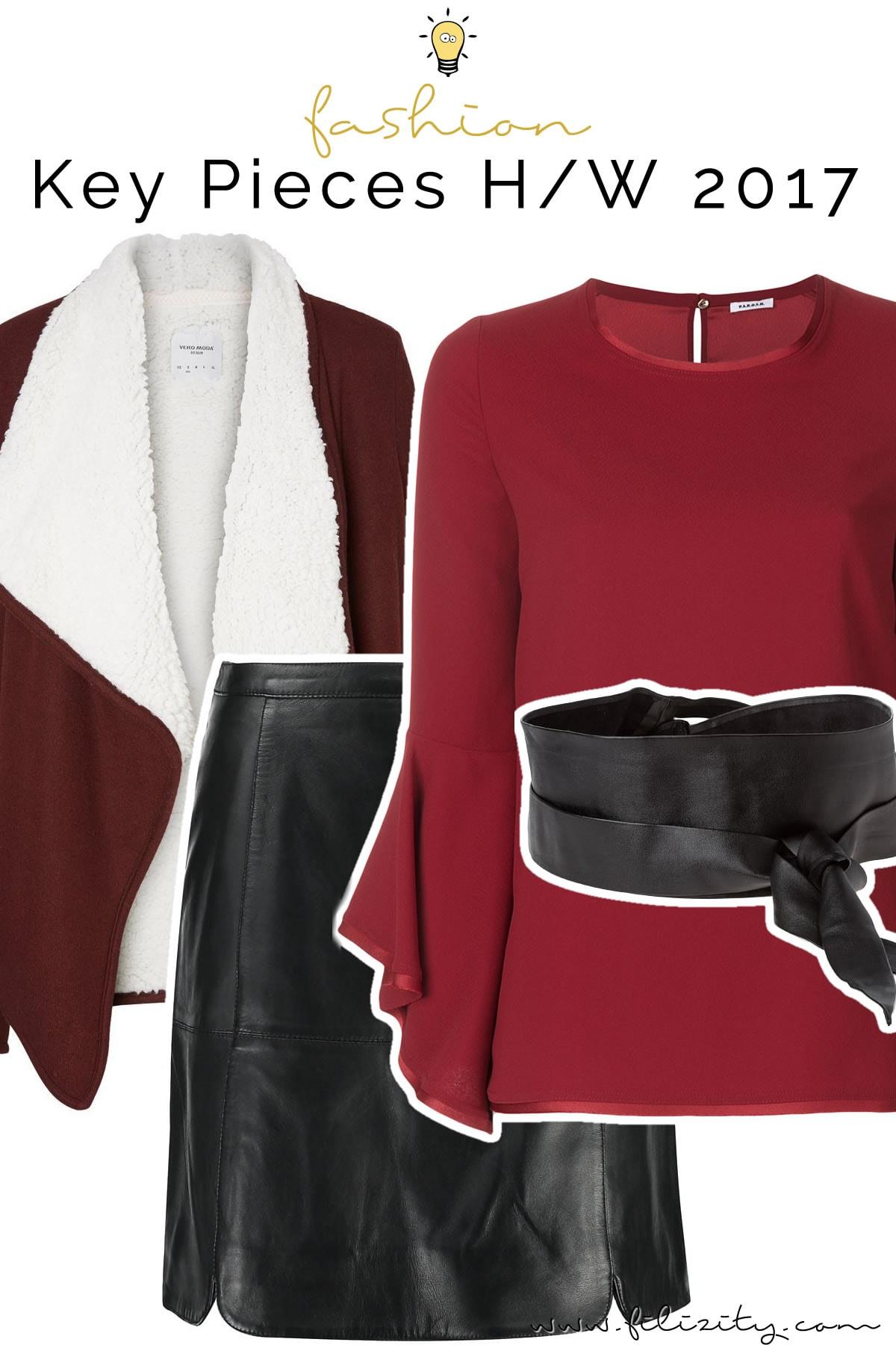 Trendvorschau: Mode-Trends Herbst/Winter 2017/18   Filizity.com   Fashion-Blog aus Koblenz #volant #karo #blumen #leder #fell