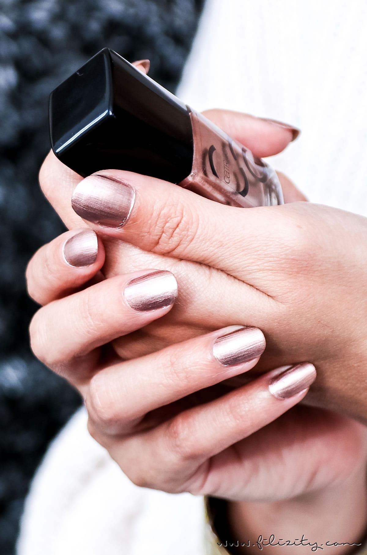 Nagellack-Trends Herbst / Winter 2017 - Diese Farben sind jetzt angesagt #nagellack #naildesign #nails #trend #herbst #winter