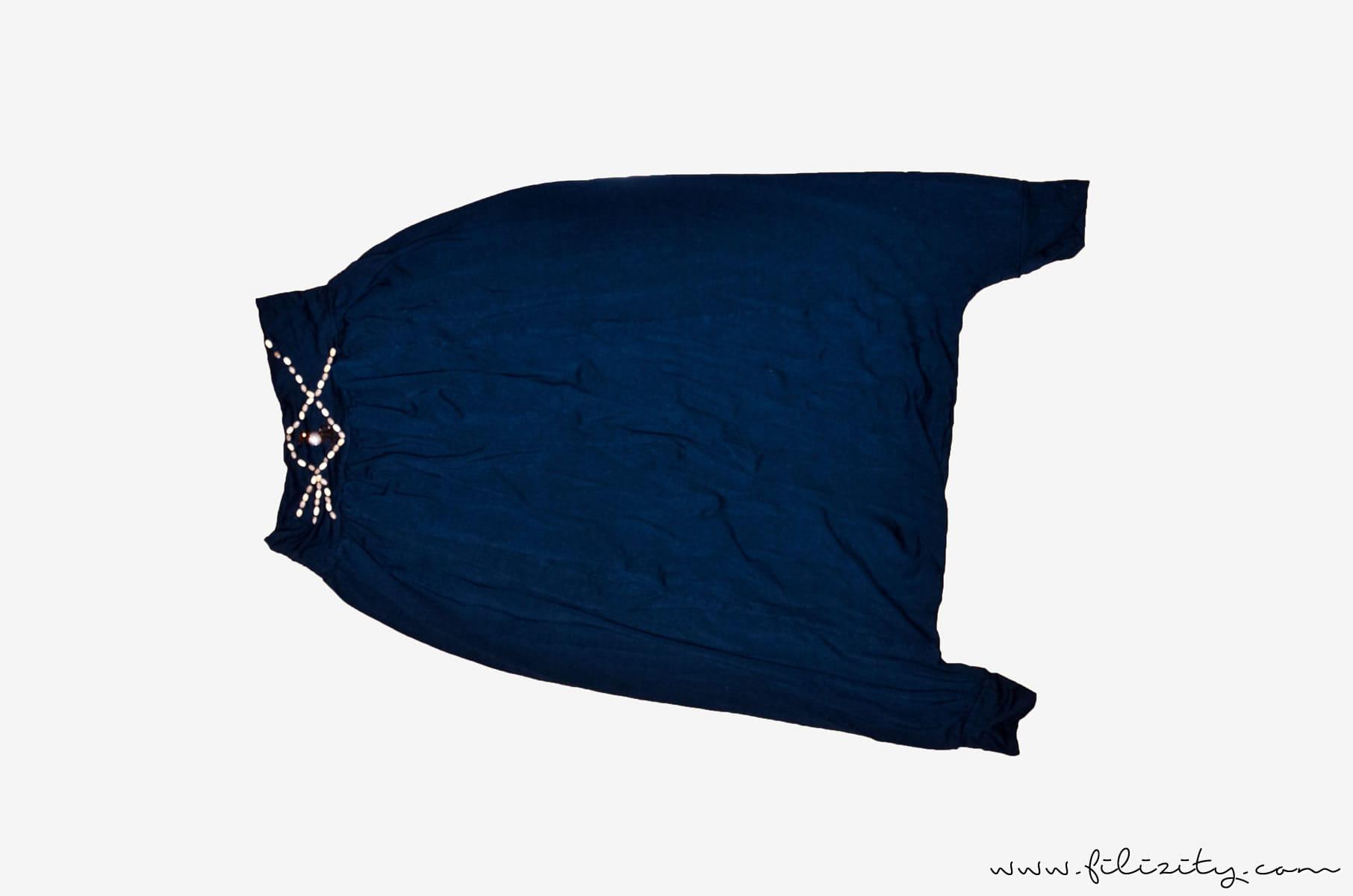 Refashion: Sommerkleid aus Shalwar-Hose nähen | Filizity.com | DIY-Blog aus Koblenz #refashion