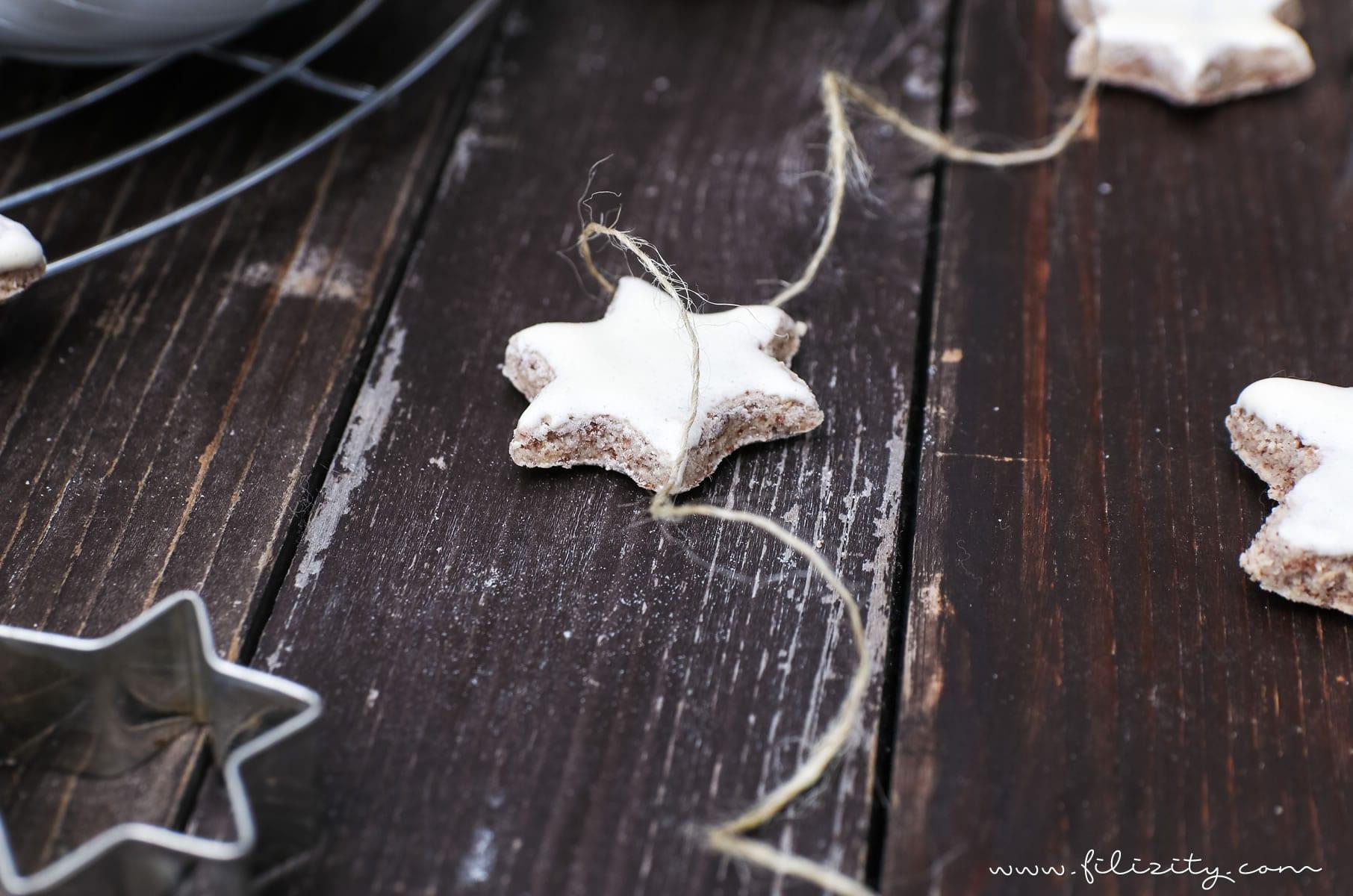 Zimtsterne zu Weihnachten – Der Klassiker unter den Plätzchen-Rezepten | Filizity.com | Food-Blog aus Koblenz #weihnacht #plätzchen #advent