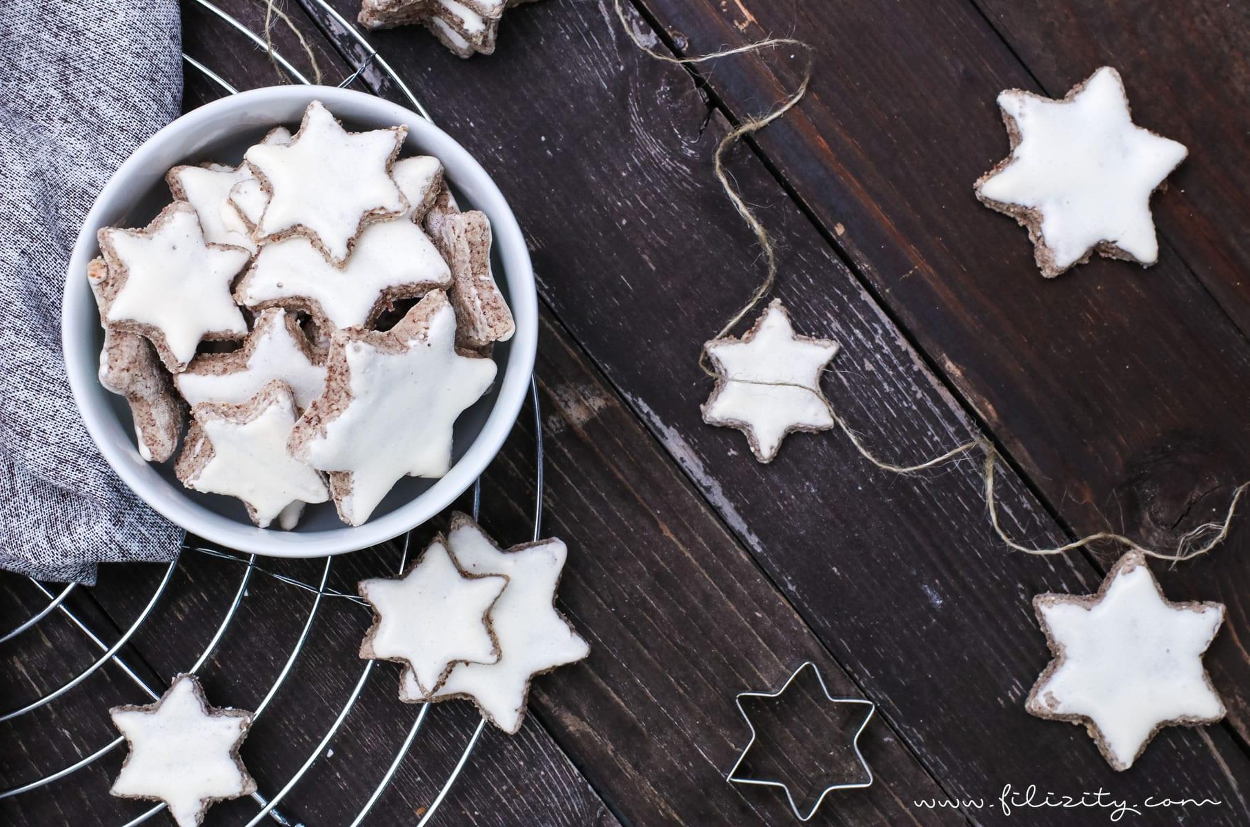 Zimtsterne (German Cinnamon Star Cookies) | Sprinkles by ...