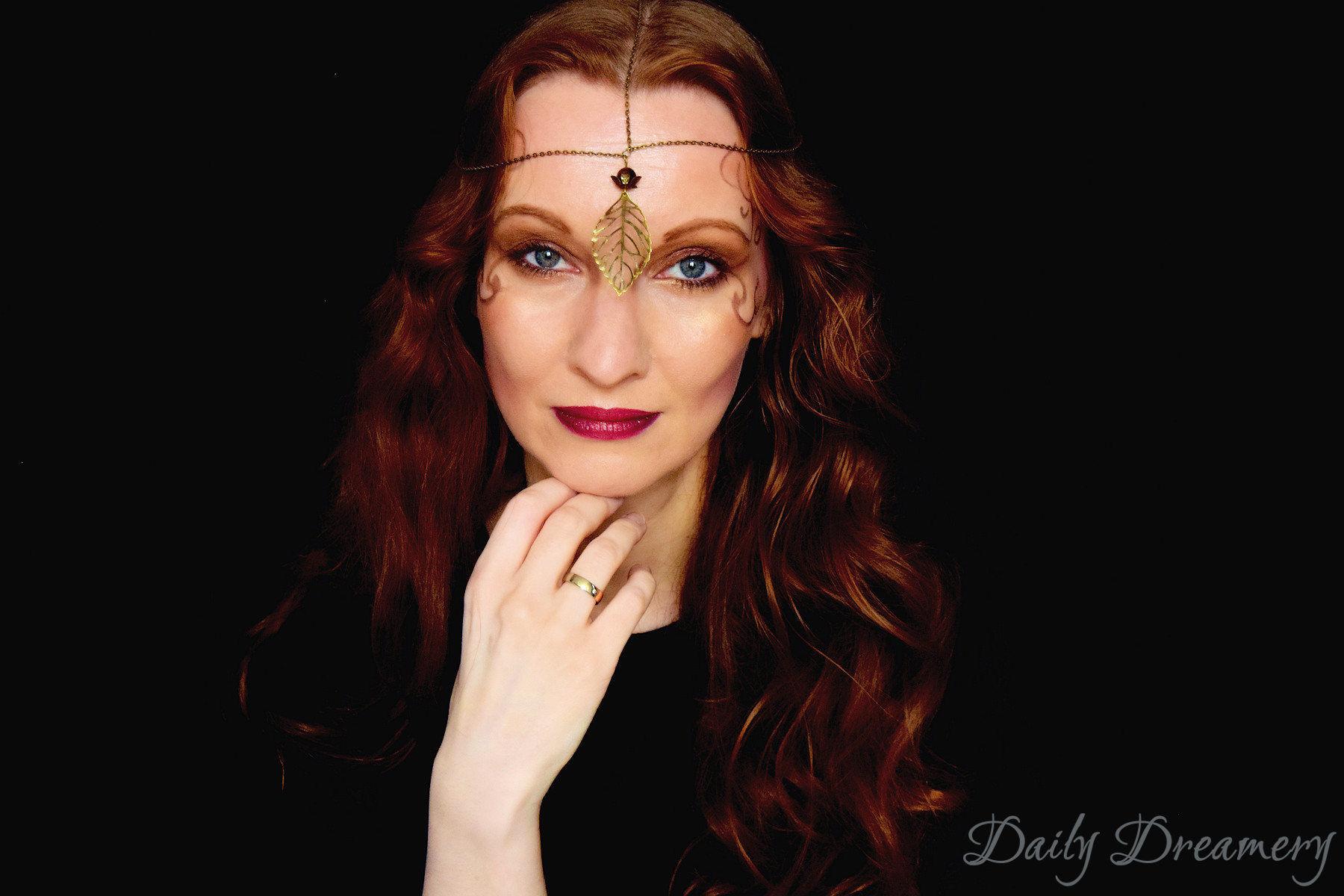 Autumn-Fairy – ein zauberhafter Halloween-Look mit zarter Feen-Krone | Daily Dreamery