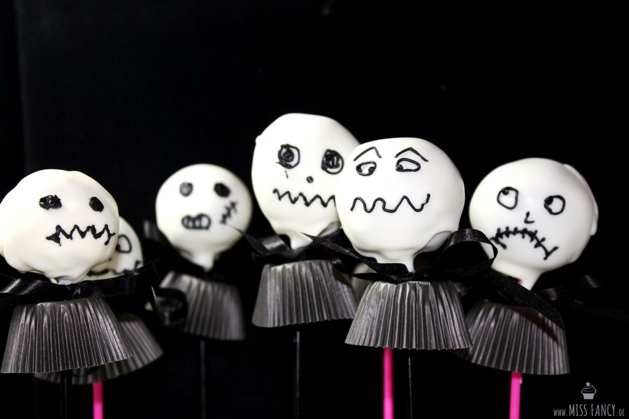 "Halloween Cakepops ""Jack Skellington"" 