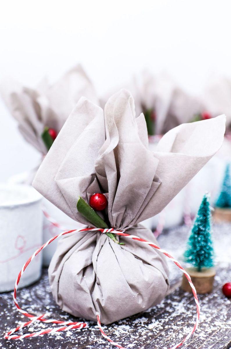 Weihnachten basteln lebensmittel