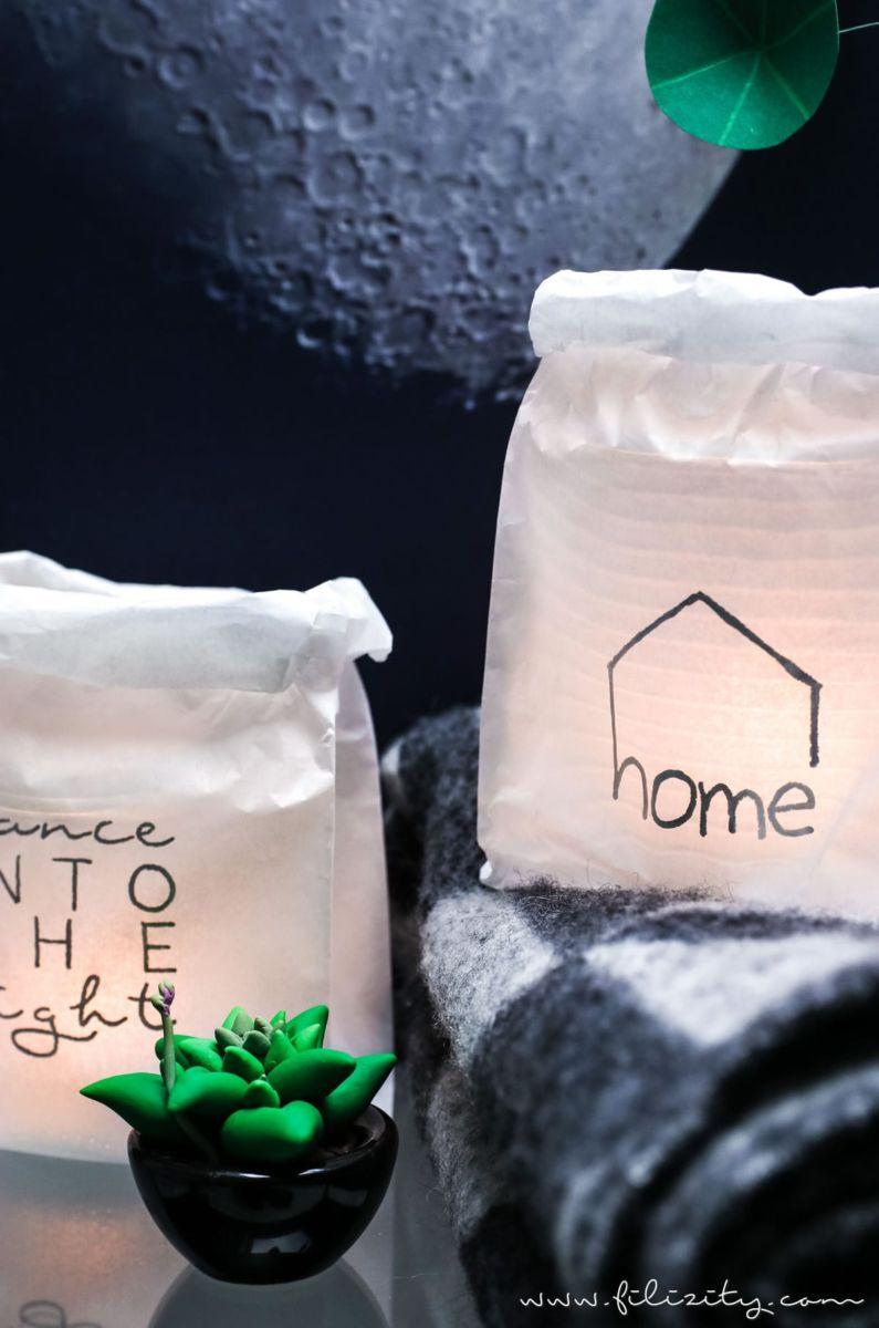 im handumdrehen mehr gem tlichkeit diy windlichter aus fr hst ckst ten mit individuellem. Black Bedroom Furniture Sets. Home Design Ideas