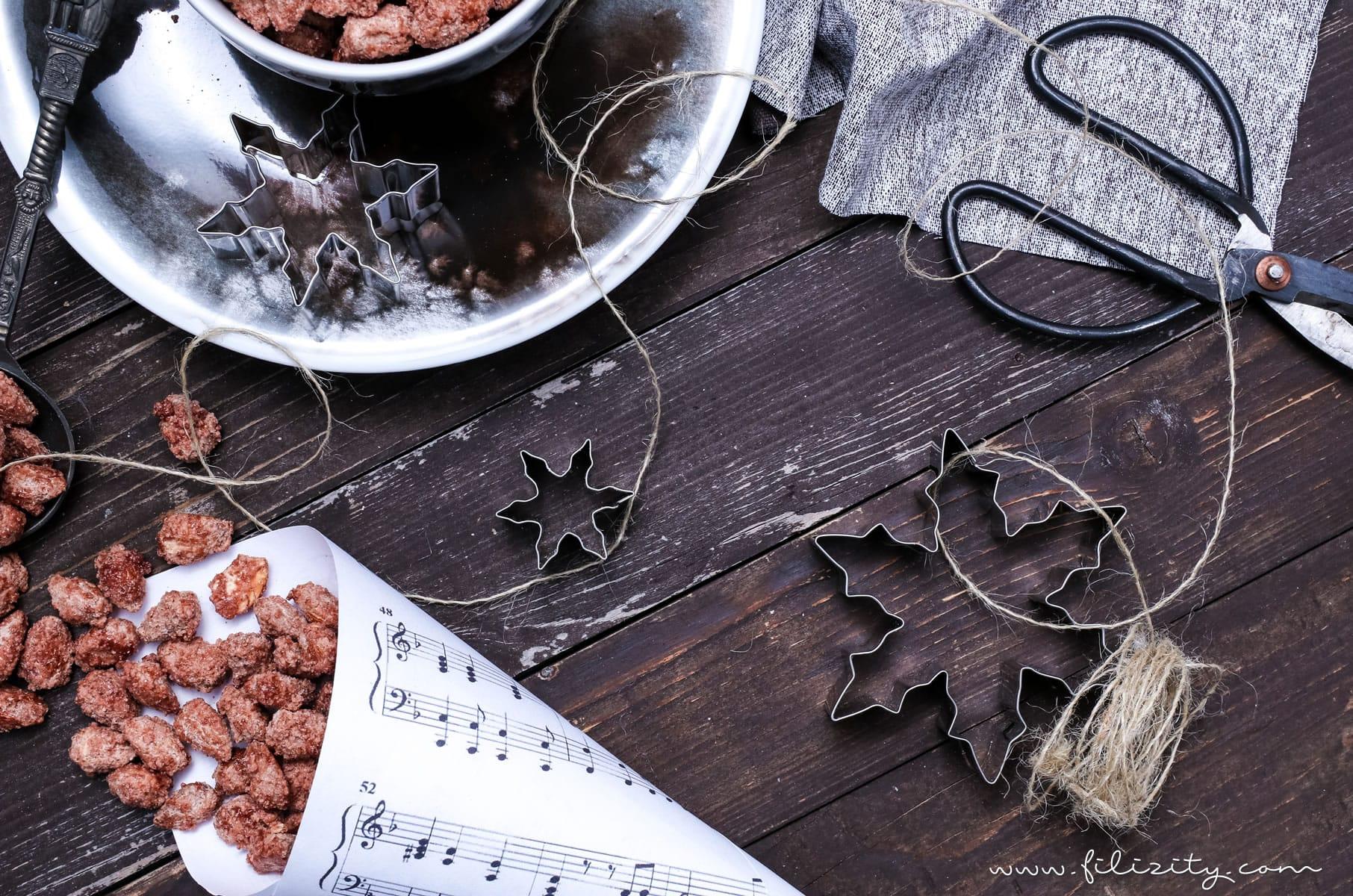Rezept: Gebrannte Mandeln wie vom Weihnachtsmarkt #weihnachten #advent