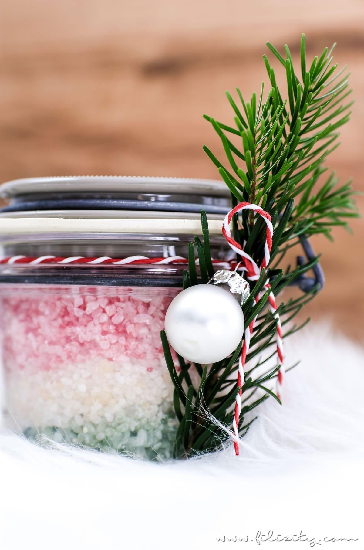 Weihnachts-Geschenkidee: DIY Badesalz mit Weihnachtsduft | Filizity.com | Beauty-Blog aus dem Rheinland #weihnachten #weihnachtsgeschenke #geschenkideen #natürkosmetik