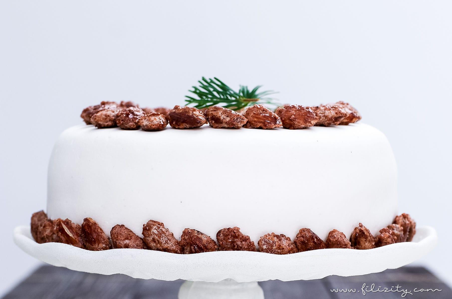 Ein Besonderes Weihnachts Rezept Diese Gebrannte Mandel Torte Mit
