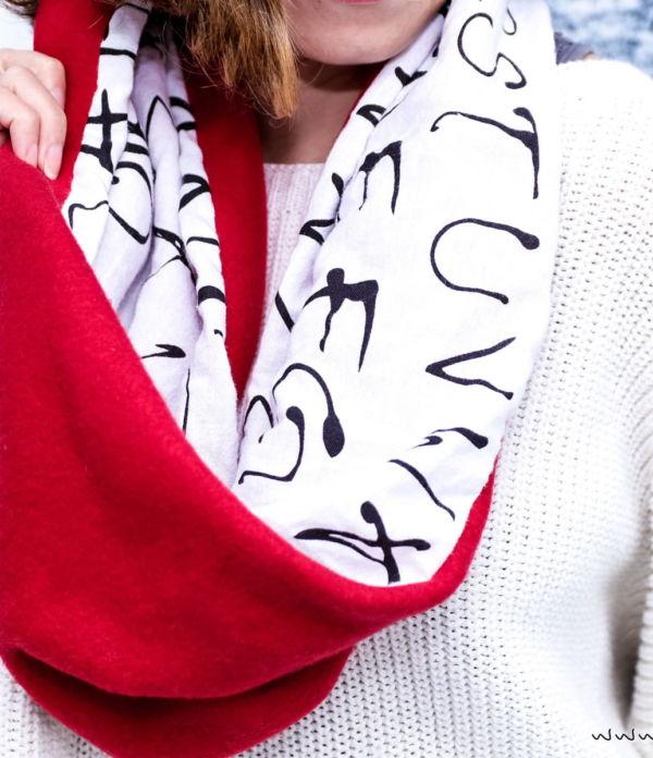 DIY Fashion: Schlauchschal nähen in 10 Minuten
