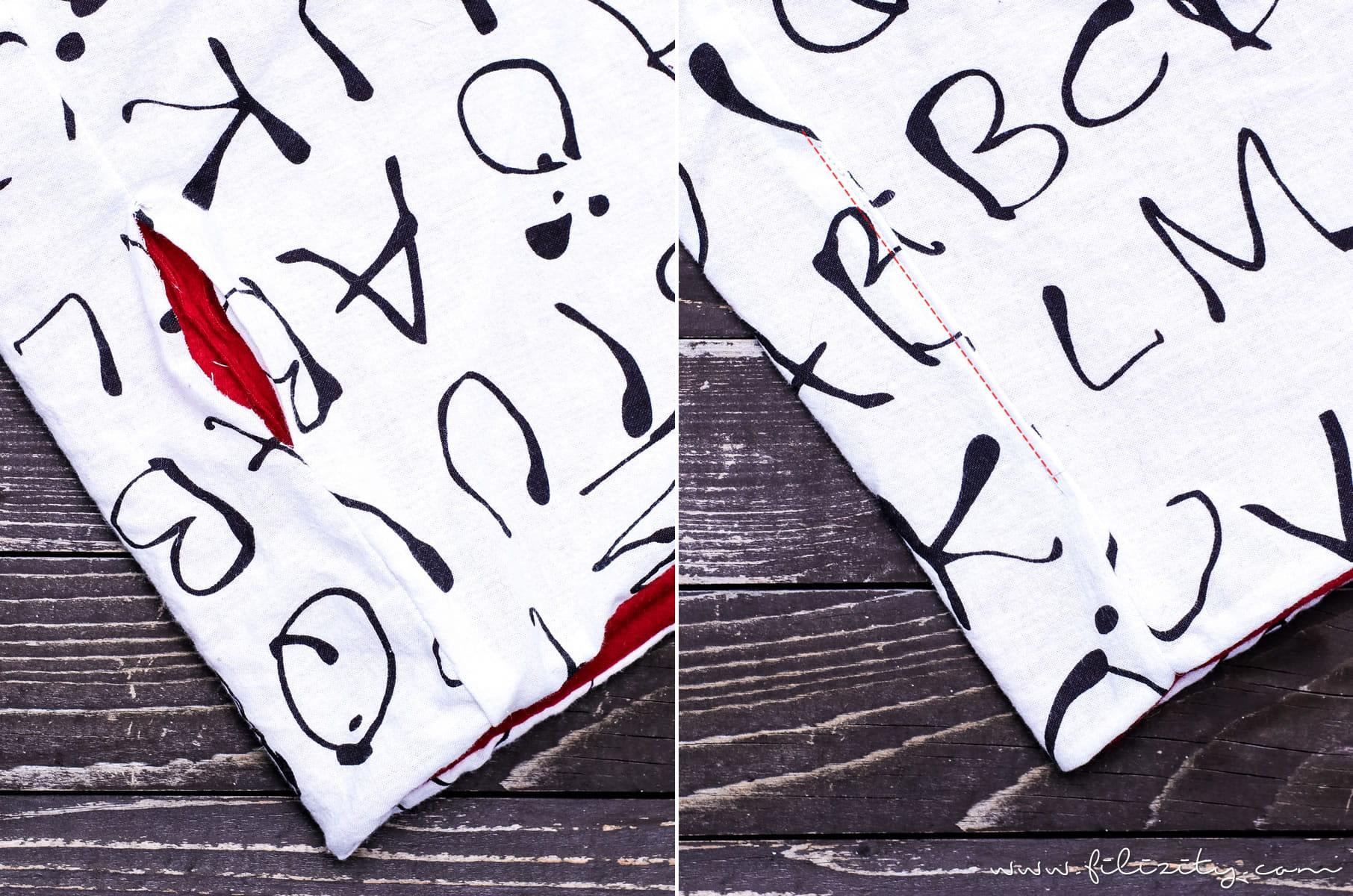 DIY Fashion: Winter-Accessoire Schlauchschal nähen in 10 Minuten | Filizity.com | DIY-Blog aus dem Rheinland #nähen #diyfashion #loop