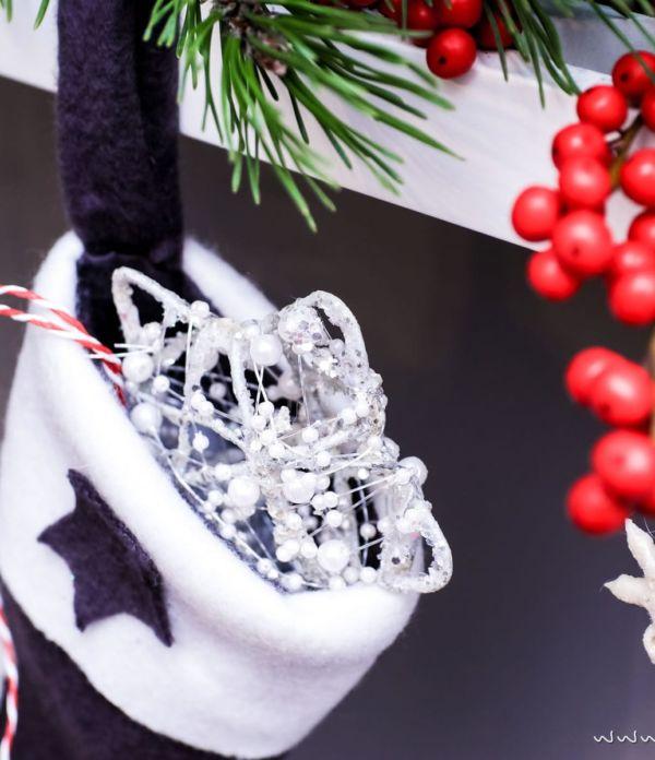 Basteln in der Weihnachtszeit: Nikolausstiefel nähen