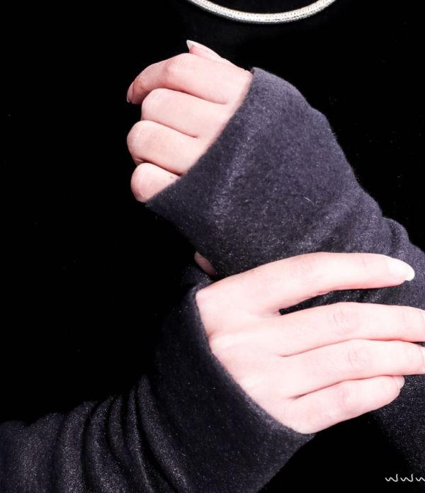 DIY Fashion: Armstulpen nähen (mit und ohne Daumen)