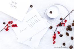 [ Free Printable ] Minimalistischer Tisch-Kalender 2018 - Kostenlose Druckvorlage | Filizity.com | Kreativ-Blog aus dem Rheinland #calendar #kalender #2018