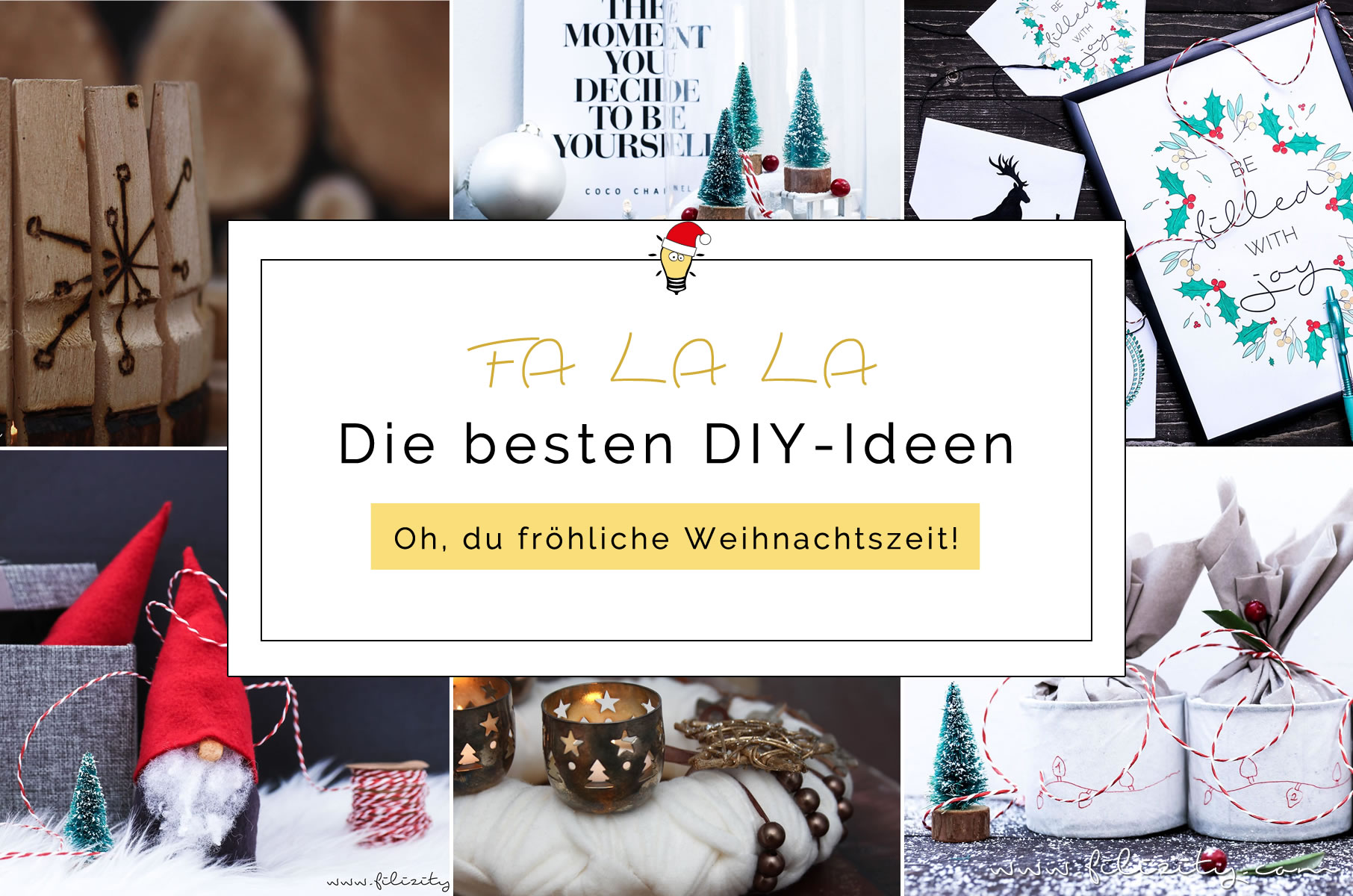 die besten diy ideen f r weihnachten diy. Black Bedroom Furniture Sets. Home Design Ideas