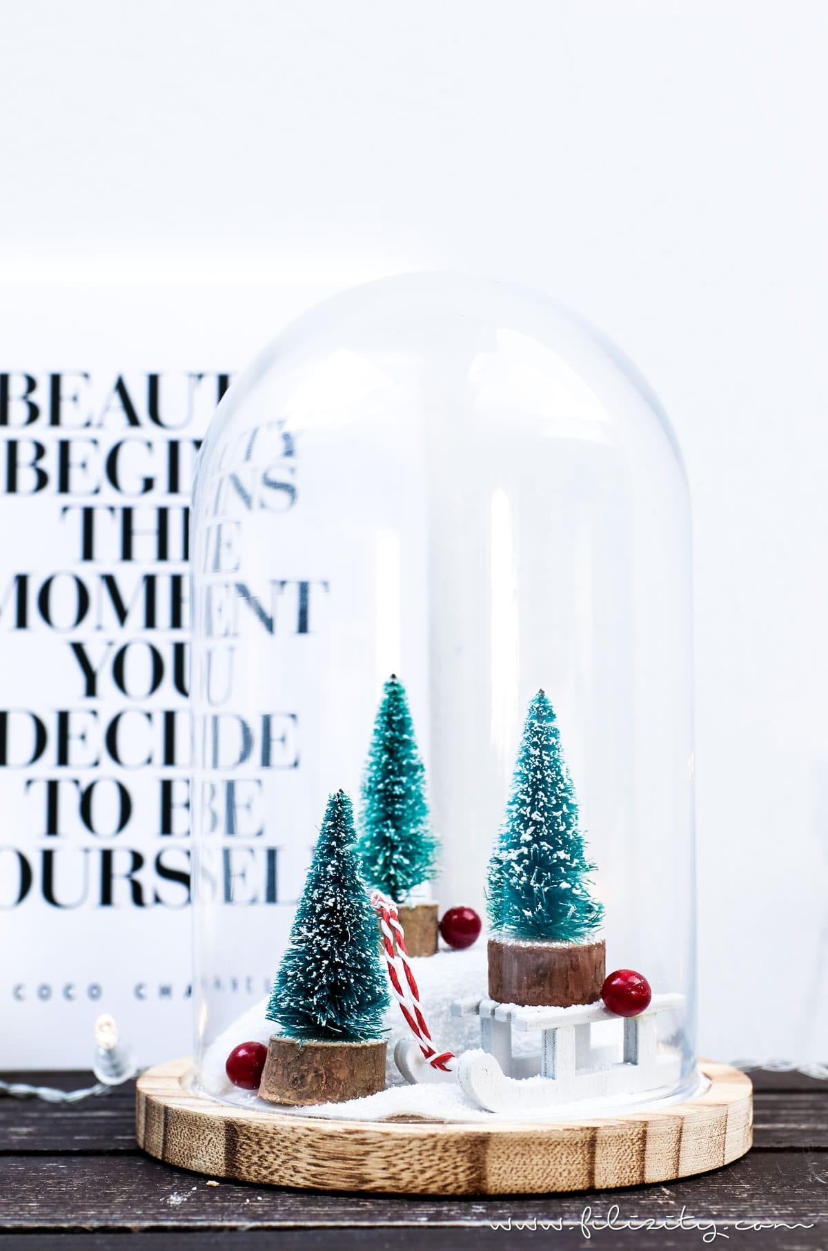 Weihnachtsdeko Diy weihnachtsdeko winterwonderland im glas filizity com diy