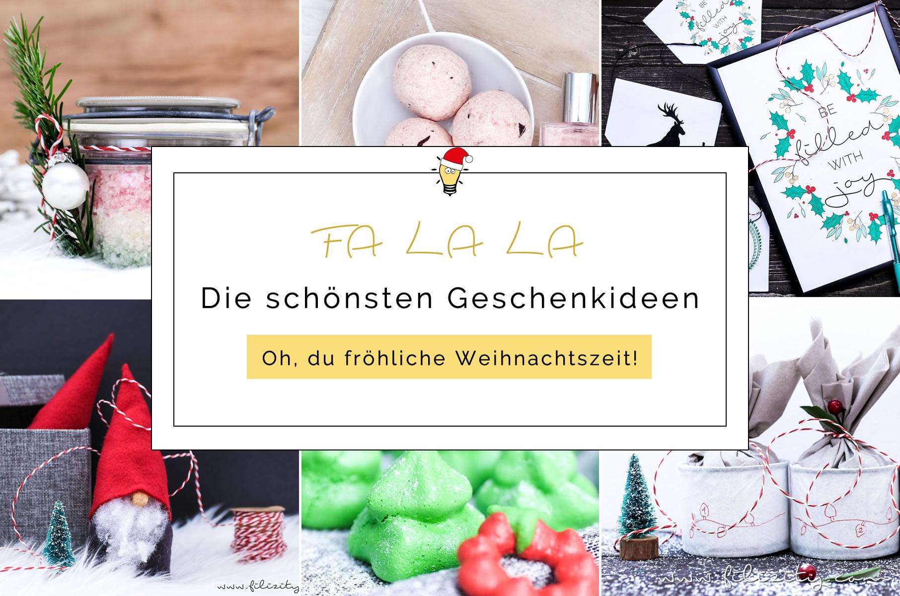 Die besten Geschenkideen zu Weihnachten | Filizity.com | Kreativ ...