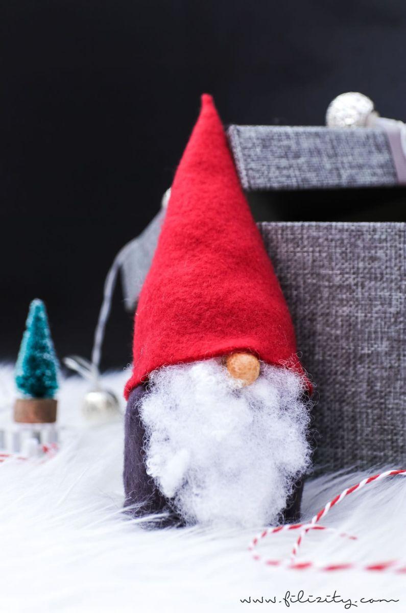 Wichtel Basteln Ohne Nahen Ob Als Weihnachtsdeko Oder Als