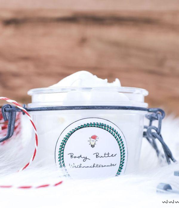 DIY Geschenkidee: Body Butter selber machen
