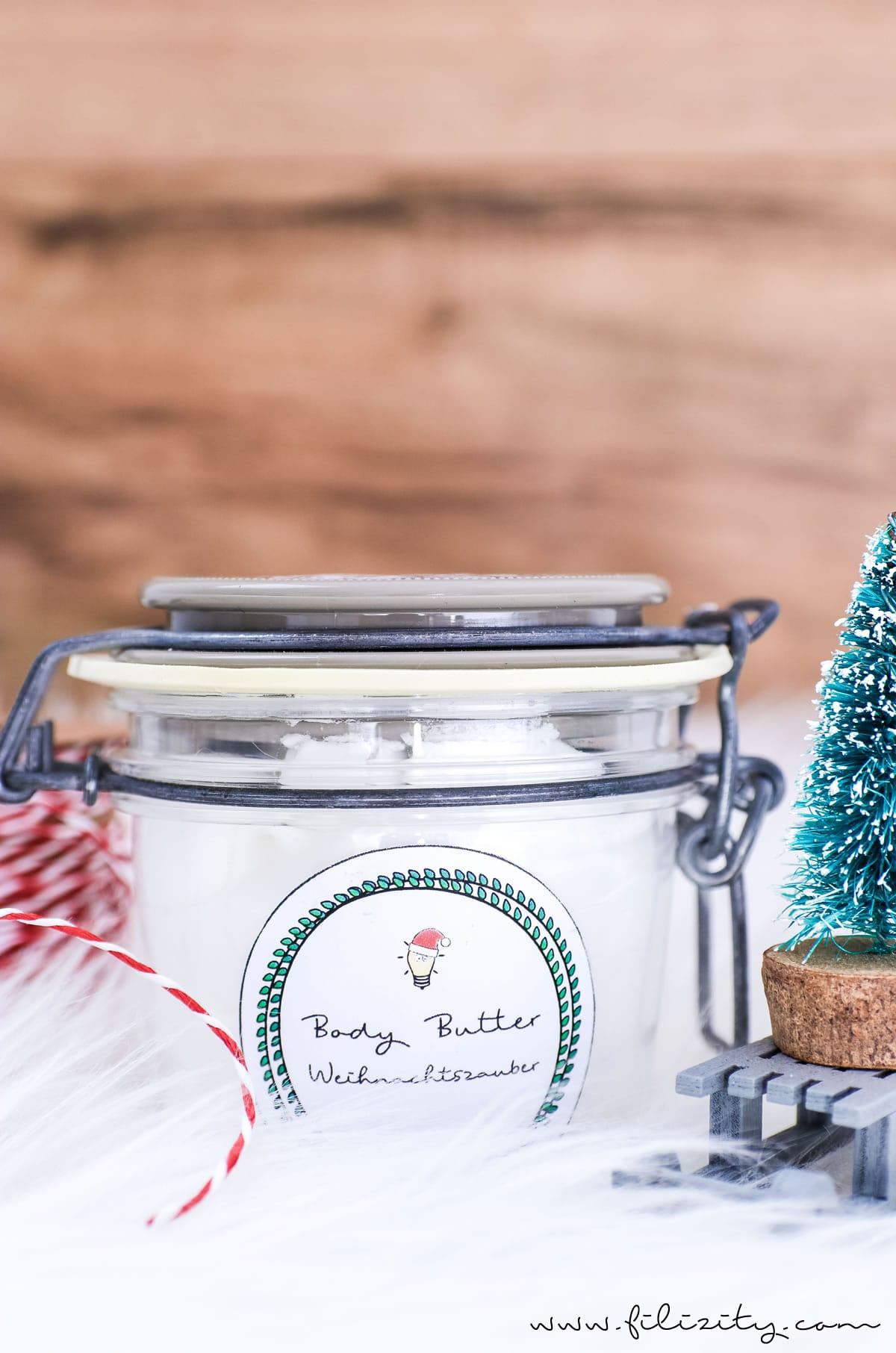DIY Geschenkidee: Body Butter selber machen | Filizity.com | Beauty ...